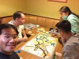 A ticket to Ride 桌遊對決