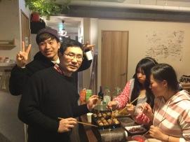 2019年5月第五屆團員和日本人開章魚燒派對