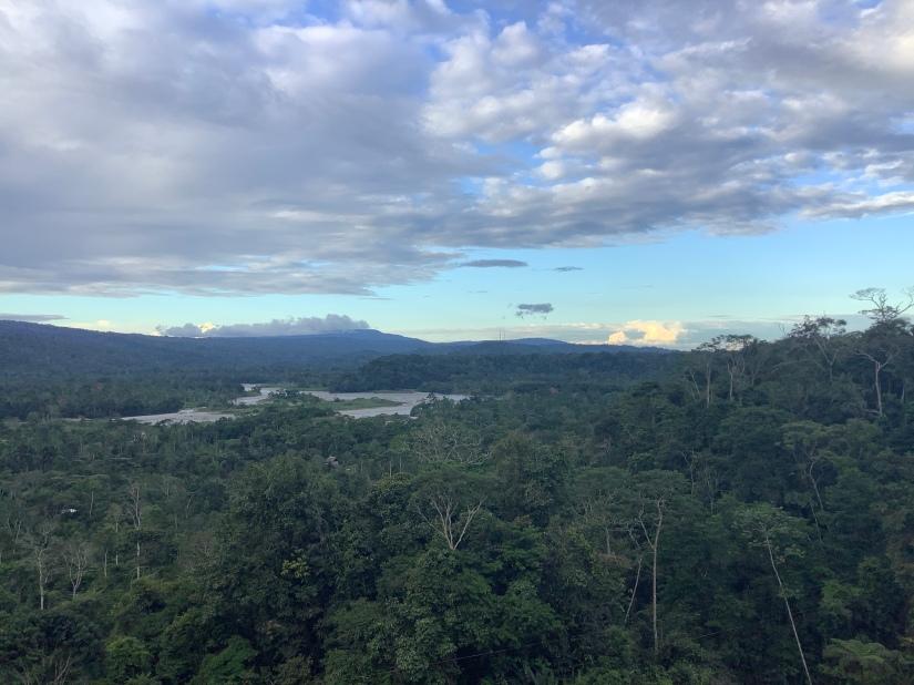 Rió Napo 當年命名亞馬遜河的西班牙人就從這裡出發全航亞馬遜河