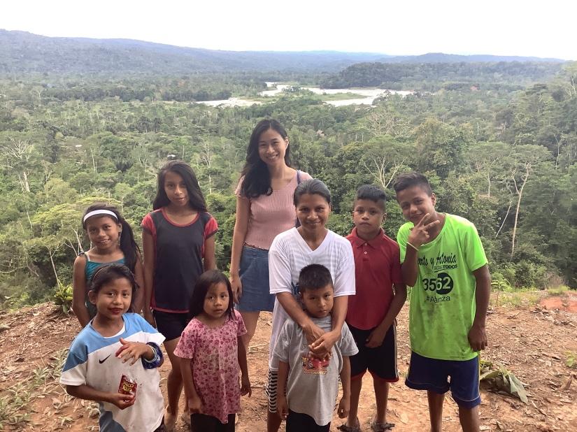 克丘亞聚落與亞馬遜河